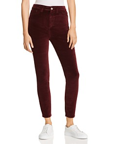 DL1961 - Chrissy Ultra High Rise Skinny Velvet Jeans in Manor