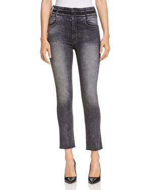 Holly Vintage High-Rise Cropped Skinny With Stacked Waistband, Valley View