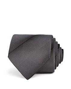 Armani -  Shadow-Stripe Silk Classic Tie
