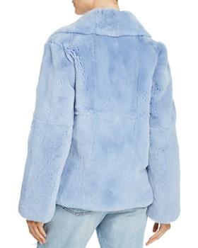 Peri Luxe - Rex Rabbit Fur Biker Jacket - 100% Exclusive