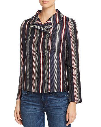 PAULE KA - Striped Jacquard Jacket
