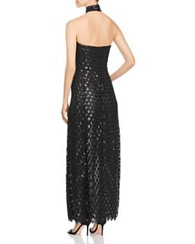 Emporio Armani - Sequined Halter Gown