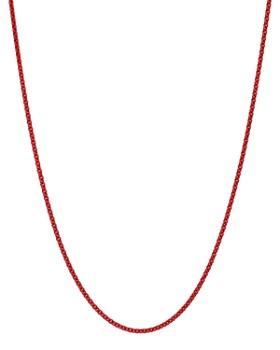 "Dodo - Sterling Silver Chain Necklace, 17.7"""