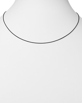 """Dodo - Sterling Silver Everyday Chain Necklace, 19.6"""""""
