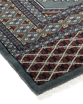 """Solo Rugs - Modern Charlie Hand-Knotted Area Rug, 4' x 6' 4"""""""