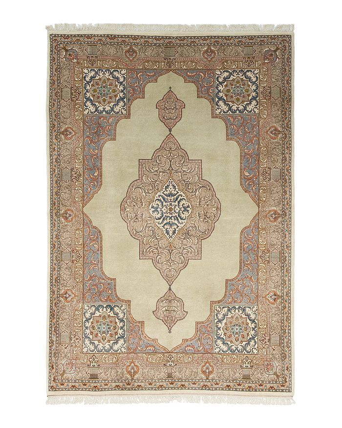 Solo Rugs Tabriz Jan Hand Knotted