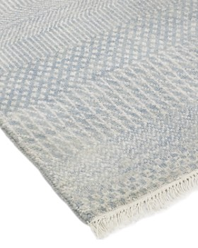 """Solo Rugs - Savannah Cambridge Hand-Knotted Runner Rug, 2' 5"""" x 12' 2"""""""