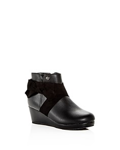 Michael Kors - Girls' Cate Katie Platform Wedge Booties - Toddler, Little Kid, Big kid