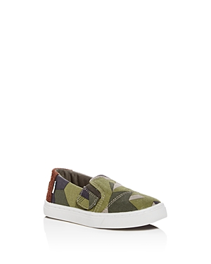 Toms Boys' Luca Camo Print Sneakers - Baby, Walker, Toddler