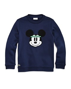 Lacoste - Boys' Lacoste x Mickey Collaboration Sweatshirt - Little Kid, Big Kid