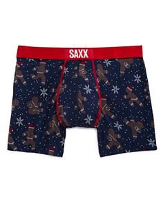 SAXX - Gingerbread Man-Print Boxer Briefs