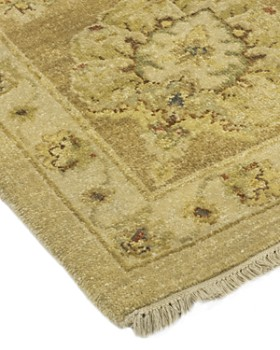 """Solo Rugs - Oushak Avery Hand-Knotted Area Rug, 9' 1"""" x 9' 2"""""""