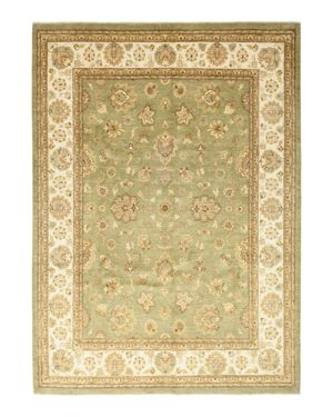 Solo Rugs Oushak Shiva Hand-Knotted Area Rug, 9'1 x 11'10