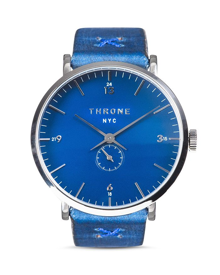 Throne - Blue 1.0 Miles Italian Band Watch, 40mm
