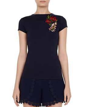 Ted Baker - Laylar Kirstenbosch Embroidered Tee