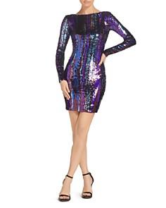 Dress the Population - Lola Sequined Mini Dress