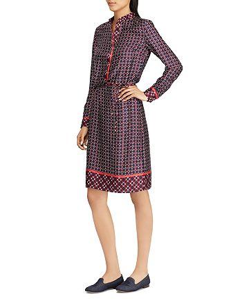 cf66f204691 Ralph Lauren - Printed Twill Shirt Dress
