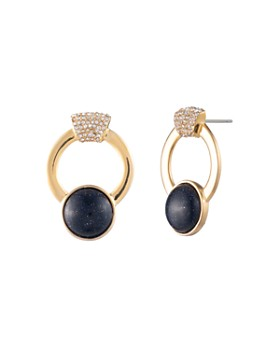 Trina Turk - Oversized Hoop Stud Earrings