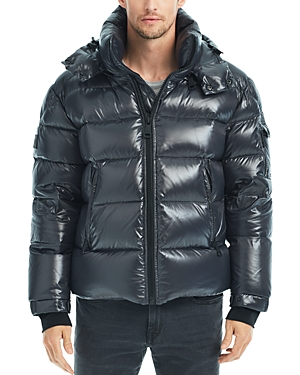 Sam. Glacier Shiny Puffer Coat