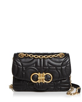 Salvatore Ferragamo - Medium Quilted Leather Shoulder Bag ... 194356575998a