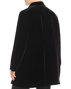 Lafayette 148 New York Plus - Cecily Long Velvet Blazer