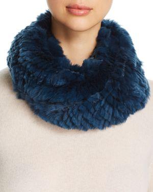 Elie Tahari Chelsea Fur Infinity Cowl Scarf