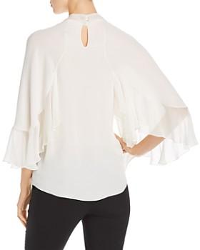 Elie Tahari - Matilda Flutter Sleeve Silk Blouse