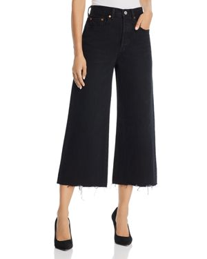 Levi's High Water Wide Leg Jeans in Damn Straight