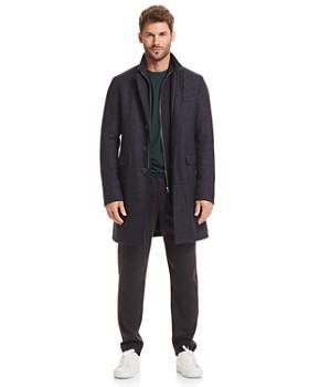 Herno - Herno 2-in-1 Coat, Barena Drawstring Pants & More