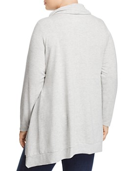 Cupio Plus - Cowl-Neck Sweatshirt