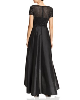 Adrianna Papell - High/Low Beaded-Bodice Dress - 100% Exclusive