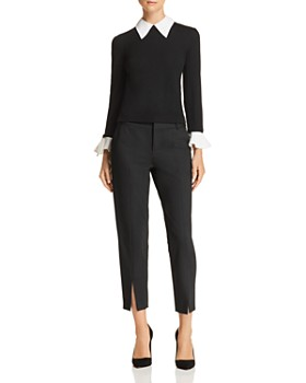 Alice and Olivia - Aster Layered-Look Sweater