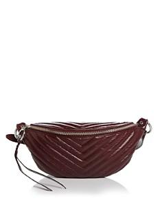 Rebecca Minkoff - Edie Large Leather Sling Belt Bag