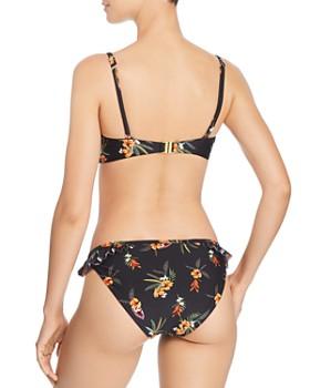 MINKPINK - Sunkissed Bandeau Tie Bikini Top & Sunkissed Frill Bikini Bottom