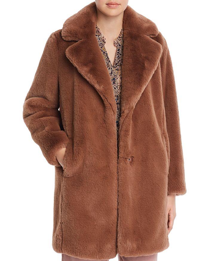 99961d55f534 MKT Studio Marili Faux Fur Coat   Bloomingdale's