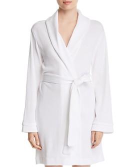 Hudson Park Collection - Pique Knit Bath Robe - 100% Exclusive