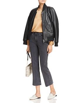 Hudson - Leather Bomber Jacket