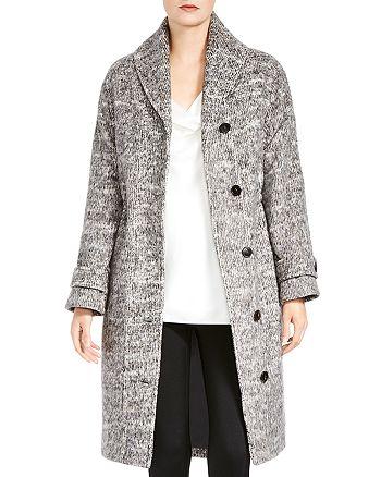 HALSTON HERITAGE - Shawl-Collar Coat