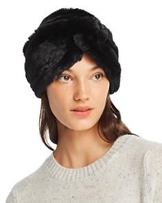 Marzi Faux Fur Turban - Bloomingdale's_0