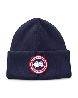 Canada Goose - Arctic Disc Patch Ribbed Beanie