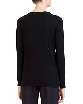 Gerard Darel - Chloé Lace-Trim Sweater