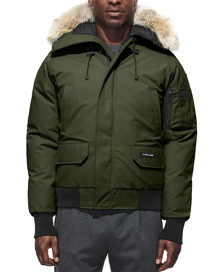 eafc03f185a Canada Goose Chilliwack Fur-Trimmed Down Bomber Jacket | Bloomingdale's