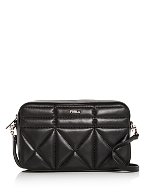 Furla Fortuna Medium Quilted Leather Convertible Crossbody