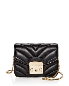 Furla - Metropolis Mini Quilted Leather Crossbody