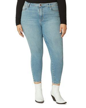 Sanctuary Curve Social Standard Ankle Jeans in Light Blue