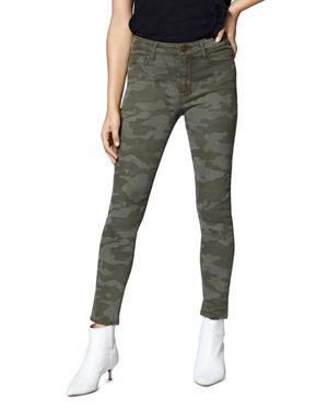Social Standard Skinny Ankle Jeans In Prosperity Camo, Prsprty Cm