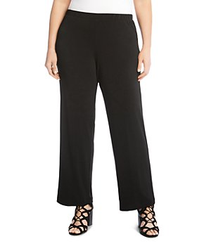 Karen Kane Plus - Crepe Straight-Leg Pants