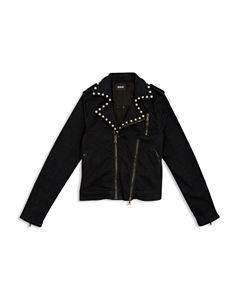 22eb59cbfd01 Splendid Girls  Gramercy Faux-Fur Bomber Jacket - Big Kid ...