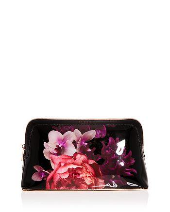 d8e95b79e582 Ted Baker - Leila Splendour Floral Cosmetics Bag