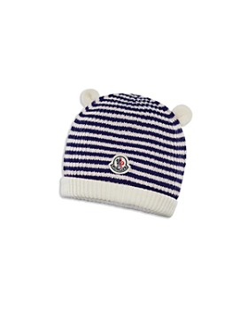 Moncler - Unisex Berretto Striped Knit Beanie - Baby
